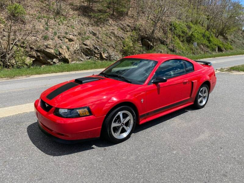 2003 Ford Mustang for sale at Johnsons Auto Sales, LLC in Marshall NC