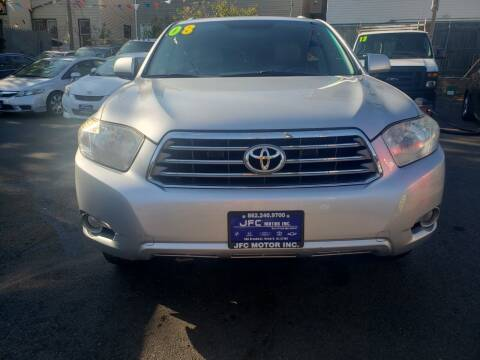 2008 Toyota Highlander for sale at JFC Motors Inc. in Newark NJ