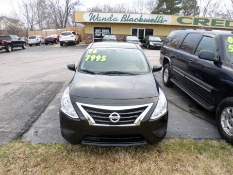 2016 Nissan Versa for sale at Credit Cars of NWA in Bentonville AR