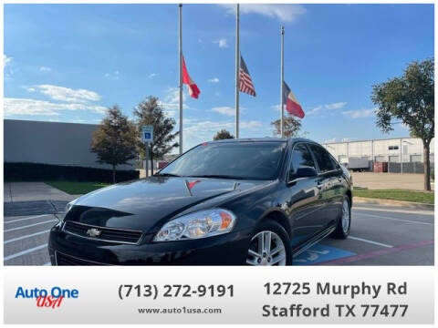 2011 Chevrolet Impala for sale at Auto One USA in Stafford TX