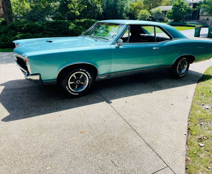 1967 Pontiac GTO for sale at Midwest Vintage Cars LLC in Chicago IL