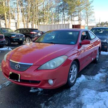 2006 Toyota Camry Solara for sale at CRS 1 LLC in Lakewood NJ