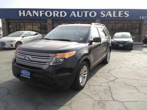 2015 Ford Explorer for sale at Hanford Auto Sales in Hanford CA
