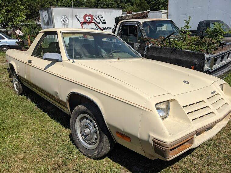 1982 Dodge Rampage for sale at Classic Cars of South Carolina in Gray Court SC