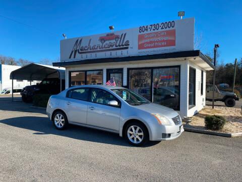 2007 Nissan Sentra for sale at Mechanicsville Auto Sales in Mechanicsville VA