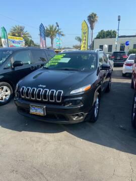 2017 Jeep Cherokee for sale at 2955 FIRESTONE BLVD - 3271 E. Firestone Blvd Lot in South Gate CA