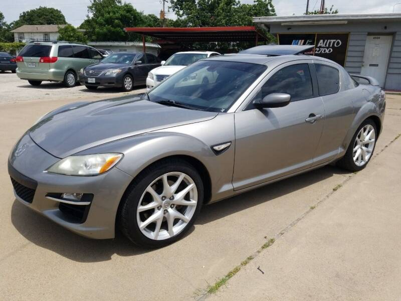 2009 Mazda RX-8 for sale at Nile Auto in Fort Worth TX