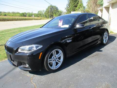 2014 BMW 5 Series for sale at SPRINGFIELD AUTO SALES in Springfield WI