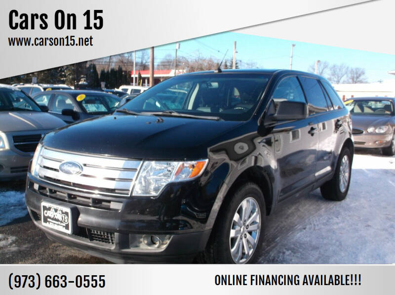 2008 Ford Edge for sale at Cars On 15 in Lake Hopatcong NJ