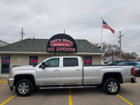 2015 GMC Sierra 3500HD for sale at DICK'S MOTOR CO INC in Grand Island NE