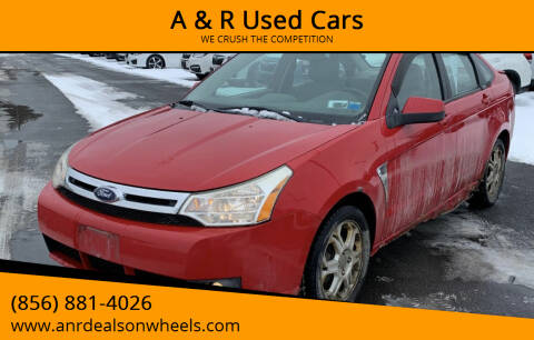 2008 Ford Focus for sale at A & R Used Cars in Clayton NJ