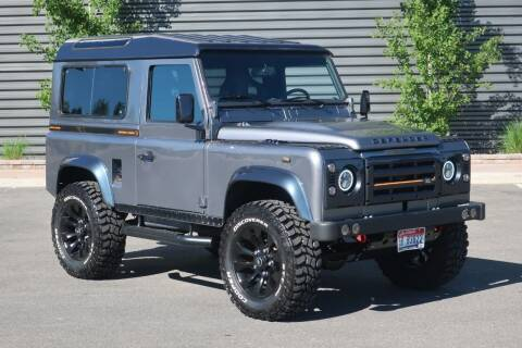 1991 Land Rover Defender for sale at Sun Valley Auto Sales in Hailey ID