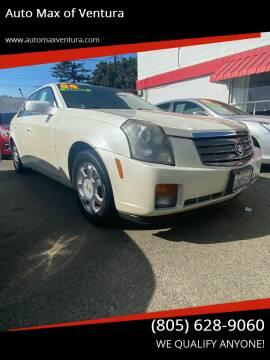2004 Cadillac CTS for sale at Auto Max of Ventura in Ventura CA