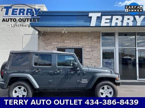 2017 Jeep Wrangler Unlimited for sale at Terry Auto Outlet in Lynchburg VA