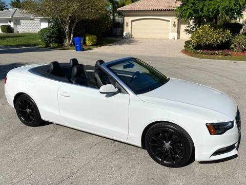 2014 Audi A5 for sale at Exceed Auto Brokers in Pompano Beach FL