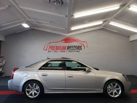2005 Cadillac CTS-V for sale at Premium Motors in Villa Park IL