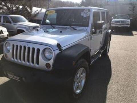 2008 Jeep Wrangler Unlimited for sale at Wilton Auto Park.com in Wilton CT