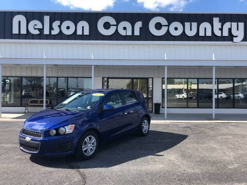 2014 Chevrolet Sonic for sale at Nelson Car Country in Bixby OK