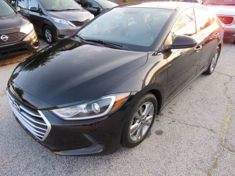 2017 Hyundai Elantra for sale at King of Auto in Stone Mountain GA