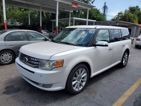 2011 Ford Flex for sale at America Auto Wholesale Inc in Miami FL