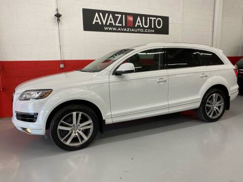 2015 Audi Q7 for sale at AVAZI AUTO GROUP LLC in Gaithersburg MD