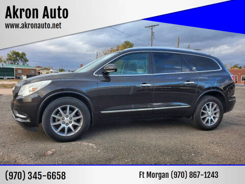 2013 Buick Enclave for sale at Akron Auto in Akron CO