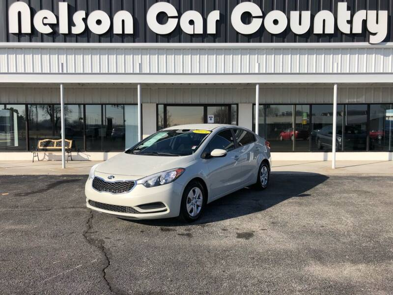 2015 Kia Forte for sale at Nelson Car Country in Bixby OK