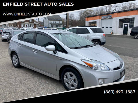 2010 Toyota Prius for sale at ENFIELD STREET AUTO SALES in Enfield CT