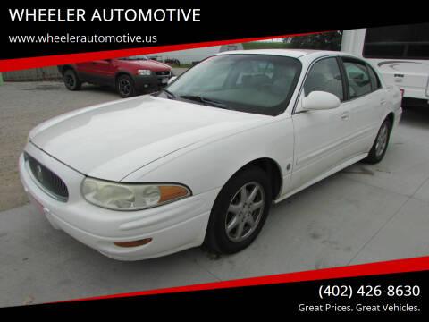 2004 Buick LeSabre for sale at WHEELER AUTOMOTIVE in Blair NE