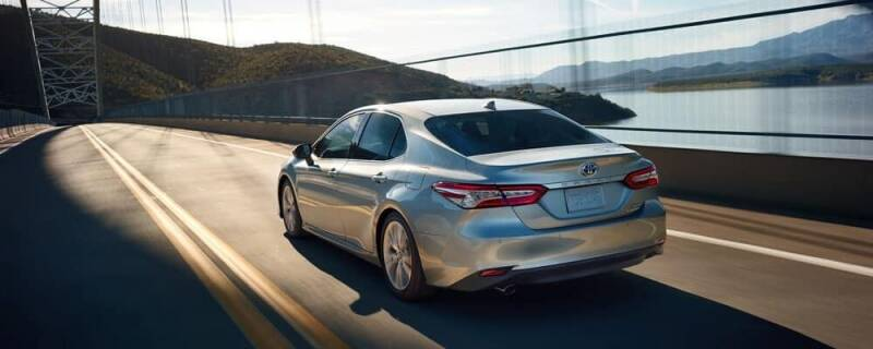 2019 Toyota Camry for sale at Econo Auto Sales Inc in Raleigh NC