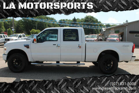 2008 Ford F-250 Super Duty for sale at LA MOTORSPORTS in Windom MN