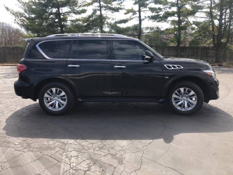 2017 Infiniti QX80 for sale at St. Louis Used Cars in Ellisville MO