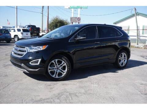 2017 Ford Edge for sale at FREDY KIA USED CARS in Houston TX