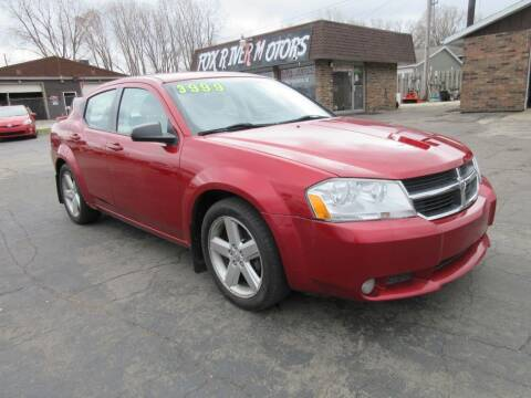 2008 Dodge Avenger for sale at Fox River Motors, Inc in Green Bay WI