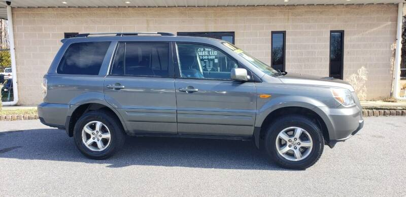 2007 Honda Pilot for sale at 220 Auto Sales LLC in Madison NC
