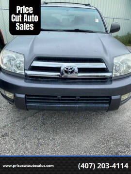 2005 Toyota 4Runner for sale at Price Cut Auto Sales in Orlando FL