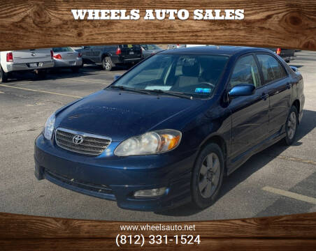 2008 Toyota Corolla for sale at Wheels Auto Sales in Bloomington IN