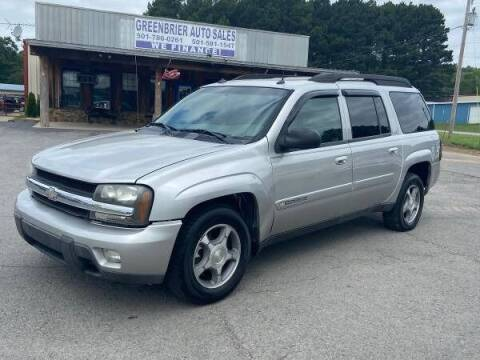 2004 Chevrolet TrailBlazer EXT for sale at Greenbrier Auto Sales in Greenbrier AR