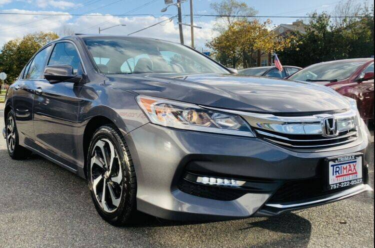 2016 Honda Accord for sale at Trimax Auto Group in Norfolk VA