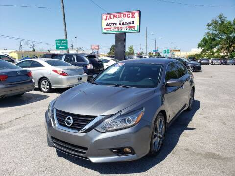 2018 Nissan Altima for sale at Jamrock Auto Sales of Panama City in Panama City FL