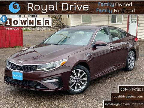 2019 Kia Optima for sale at Royal Drive in Newport MN