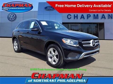 2018 Mercedes-Benz GLC for sale at CHAPMAN FORD NORTHEAST PHILADELPHIA in Philadelphia PA