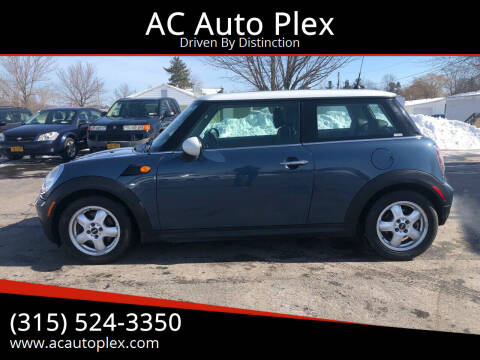 2010 MINI Cooper for sale at AC Auto Plex in Ontario NY