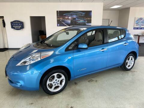 2011 Nissan LEAF for sale at Used Car Outlet in Bloomington IL