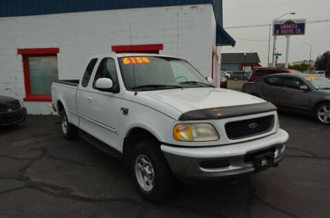 1998 Ford F-150 for sale at CARGILL U DRIVE USED CARS in Twin Falls ID