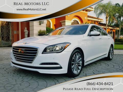 2015 Hyundai Genesis for sale at Real Motors LLC in Clearwater FL