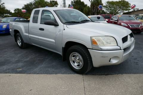 2007 Mitsubishi Raider for sale at J Linn Motors in Clearwater FL