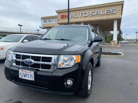 2008 Ford Escape Hybrid for sale at RN Auto Sales Inc in Sacramento CA