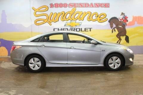 2014 Hyundai Sonata Hybrid for sale at Sundance Chevrolet in Grand Ledge MI