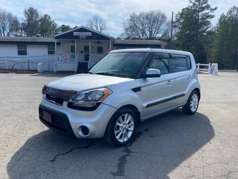 2012 Kia Soul for sale at CVC AUTO SALES in Durham NC